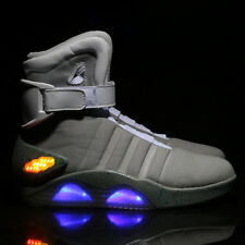 BACK TO THE FUTURE MEN WARRIOR BASKETBALL LED LIGHT SHOES KEY CHAIN Cool Fashion