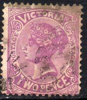 1883 Victoria Sg 211 2d mauve Fine Used