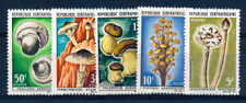 CENTRAL AFRICAN REPUBLIC 1967 MINT NH SET # 81/85, MUSHROOMS !!   AD104