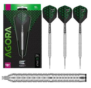 Target Darts - Agora Swiss Point A05 90% Tungsten 22g 24g (Steel Dart) Pfeile