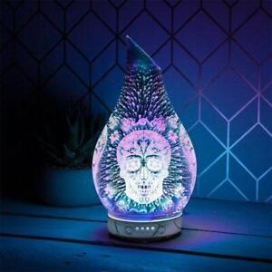 Humidifier Colour Changing Diffuser Skull – UK Seller