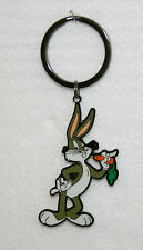 Warner Brothers WB Bugs Bunny Pinnacle Designs Metal Key Chain New NOS 2000
