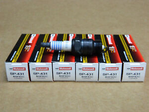SET OF 6 FORD MOTORCRAFT SP431 COPPER CORE SPARK PLUGS XF14Y BSF82C BSF6 RF18YC