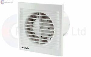 Extractor Bathroom Shower Kitchen Fan Std Timer Humidity Pullcord upto 240m3/hr
