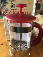 Bialetti Colorama Coffee Press Maker Plunger 8 Cup Red New In Box