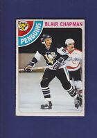 Blair Chapman 1978-79 O-PEE-CHEE Hockey #33 (EX+) Pittsburgh Penguins