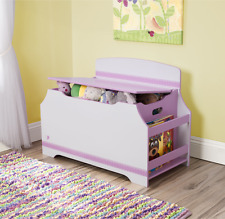 Toy Chest For Girls Kids Boxes With Bookshelf Organizer Storage Ideas Solutions