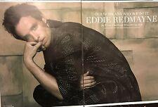 Eddie Redmayne 8pg FLAUNT magazine feature, clippings