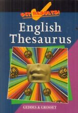 English Thesaurus(Paperback Book)Get Results!-Good