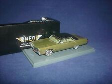 RARE! Chrysler Imperial olive met 1971 NEO 44730 1:43