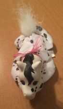 Hasbro Pony Surprise Baby Black and White Horse Plush with Pink Ribbon