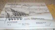 1950 Plans for Ventilated Shelter, Possible Military Application