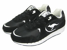Kangaroos Men s Shoe Sneaker Running Shoes Low Coil-R2 Black Black 5a9b9095852