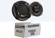 Peugeot 306 Break Sony Lautsprecher Boxen Set KFZ PKW Auto Heck 13cm 2-Wege Koax