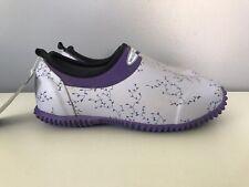 Muck Boots Purple Plum Vibe Muckster 2 Garden Slip On Shoes Womens 4/4.5