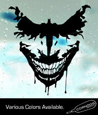 Joker Bat Sticker Vinyl Decal Suicide Squad Harley Quinn Batman Dc Comics Wayne