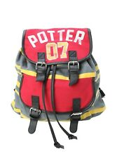 Harry Potter 07 Slouch Book Bag Buckle Backpack Quidditch School Uniform Design