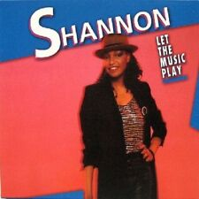 Shannon  -  Let The Music Play     New cd  Canada import. (Give Me Tonight)