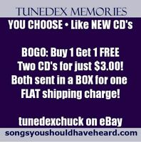 YOU CHOOSE Like NEW CD's • BOGO: Buy 1 get 1 FREE • 2 for $3.00 + Flat Shipping