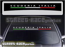 SS831 FIAT Scuderia Italia Sunstrip Graphique Stickers Autocollants 500 punto