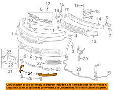 Chevrolet GM OEM 14-16 Impala Front Bumper Grille-Lower Deflector Left 22990243