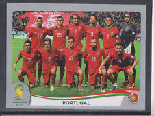 Panini-Brasil 2014 World Cup - # 508 Portugal equipo Grupo-Platinum