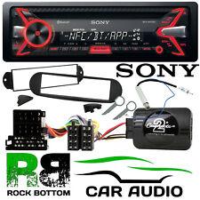 VW Beetle 1998-2010 SONY Bluetooth CD MP3 iPhone USB Car Stereo & Steering Kit
