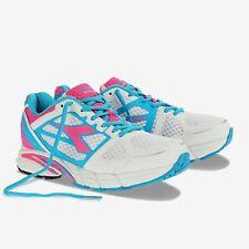 NWOB DIADORA M. Shindano III W White/Blue Bell Athletic Sneakers Women's Size 7