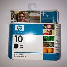 AUTHENTIC HP 10 C4844A Ink Cartridge - Black, new, unopened, expired