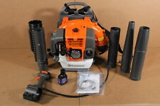 Used Husqvarna 150BT Backpack Blower Hand Throttle 2 Cycle Gas Powered SDP560