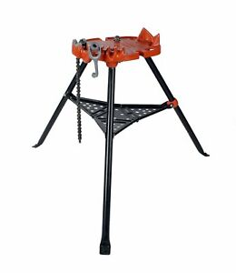 "Reconditioned RIDGID® 36273 460 Portable TRISTAND® Chain Vise 1/8 - 6"" 72037"