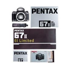 RARE / PENTAX 67II 6X7 61 LIMITED MEDIUM FORMAT FILM CAMERA / ALMOST UNUSED