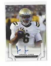 2015 LEAF DRAFT JORDON JAMES AUTO #BA-JJ2 UCLA