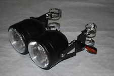 Soportes Faros Negro Twin Dominator indicadores horquillas bandit GSF600 39-42mm