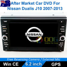 "6.2"" Car DVD GPS Navigation Head Unit Stereo For Nissan Dualis J10 2007-2013"