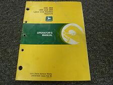 John Deere 240 260 265 285 Lawn & Garden Tractor Owner Operator Manual Omm78991