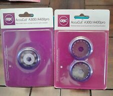 GBC AccuCut WAVE & PERFORATOR Blades, 2 Pack Lot, Scrapbook Crafts, NEW!