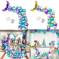 Mermaid Tail Balloons Garland Set Balloon Arch Birthday Baby Shower Party Decor