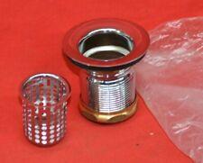 """Bar Prep Lav Sink Junior Stainless Steel Drain Assembly w/ Strainer Basket 2"""""""