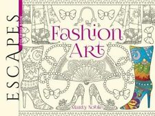 ESCAPES Fashion Art Coloring Book (Escapes Coloring Book), 0486810682, New Book