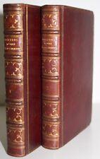 Mme de GRAFFIGNY Lettres d'une péruvienne 2 vol. 1756 ill. par Eisen Reliure 19e
