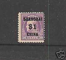 K15   Shanghai  Mint  NH      catalog $1,300.00