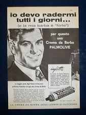 A280-Advertising Pubblicità-1960-PALMOLIVE - CREMA DA BARBA