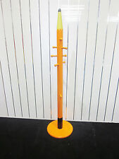 NEW KIDS CHILDRENS PENCIL - COAT HANGER AVAILABLE IN 4 COLOURS - ORANGE