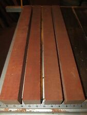 4 KD EXOTIC BRAZILIAN CHERRY JATOBA TURNING LATHE WOOD BLANK LUMBER 2 x 2 x 24""