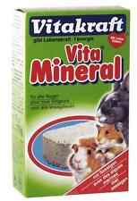 Hamster Mineral Lick Stone 170g Guinea Pig Rabbit Dietary Supplement VITAKRAFT