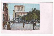 Broadway from Park Place New York City 1905c postcard