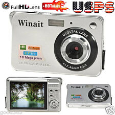 "18 Mega Pixels CMOS 2.7"" TFT LCD Screen HD 1080P Digital Camera Pro Camcorders"