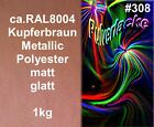 verniciatura a Polvere 1Kg VERNICIATURA POLVERE RAL8004 Rame Metallico