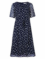 Marks and Spencer Women's Casual Knee Length Polyester Skirts